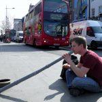 Philipp Gerisch - Straßenmusik in London UK, 2012.